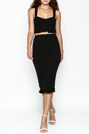 TIMELESS Ruffle Pencil Skirt Set - Side cropped