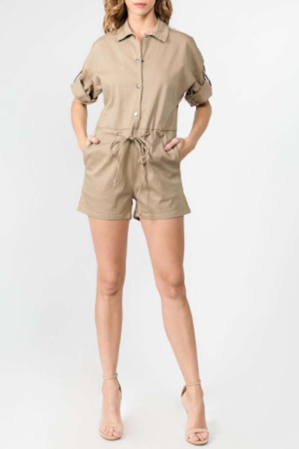TIMELESS Sahara Romper - Front Cropped Image