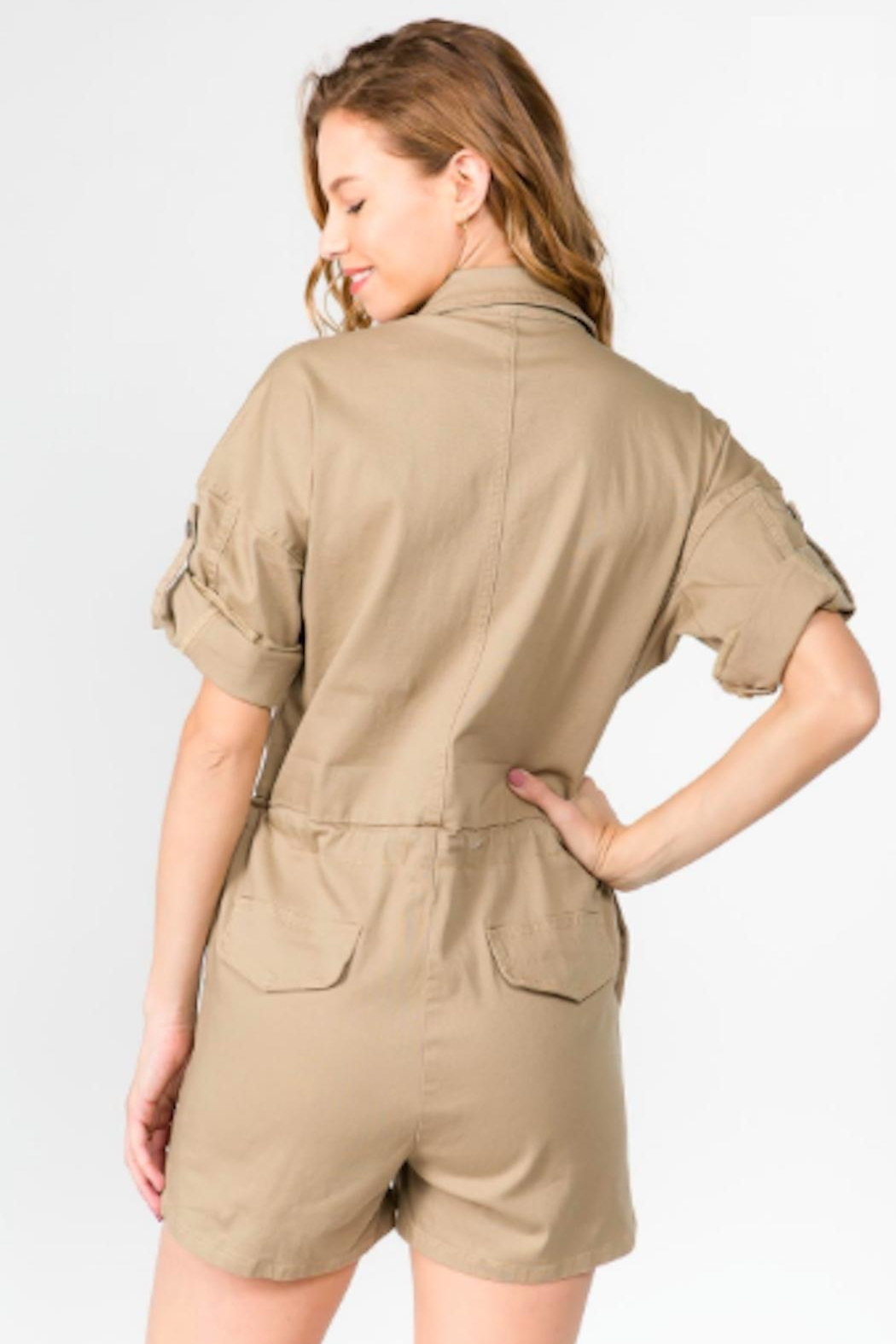 TIMELESS Sahara Romper - Side Cropped Image