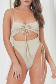 TIMELESS Sand Swimsuit - Front cropped