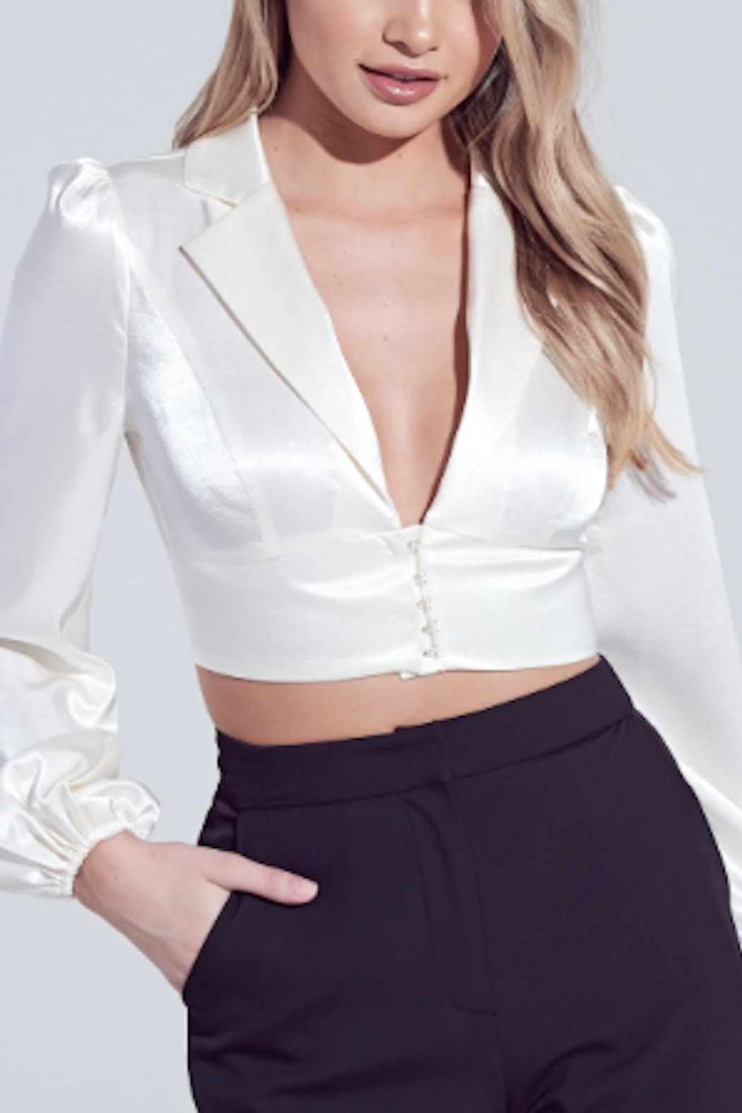 TIMELESS Silky Smooth Top - Front Cropped Image