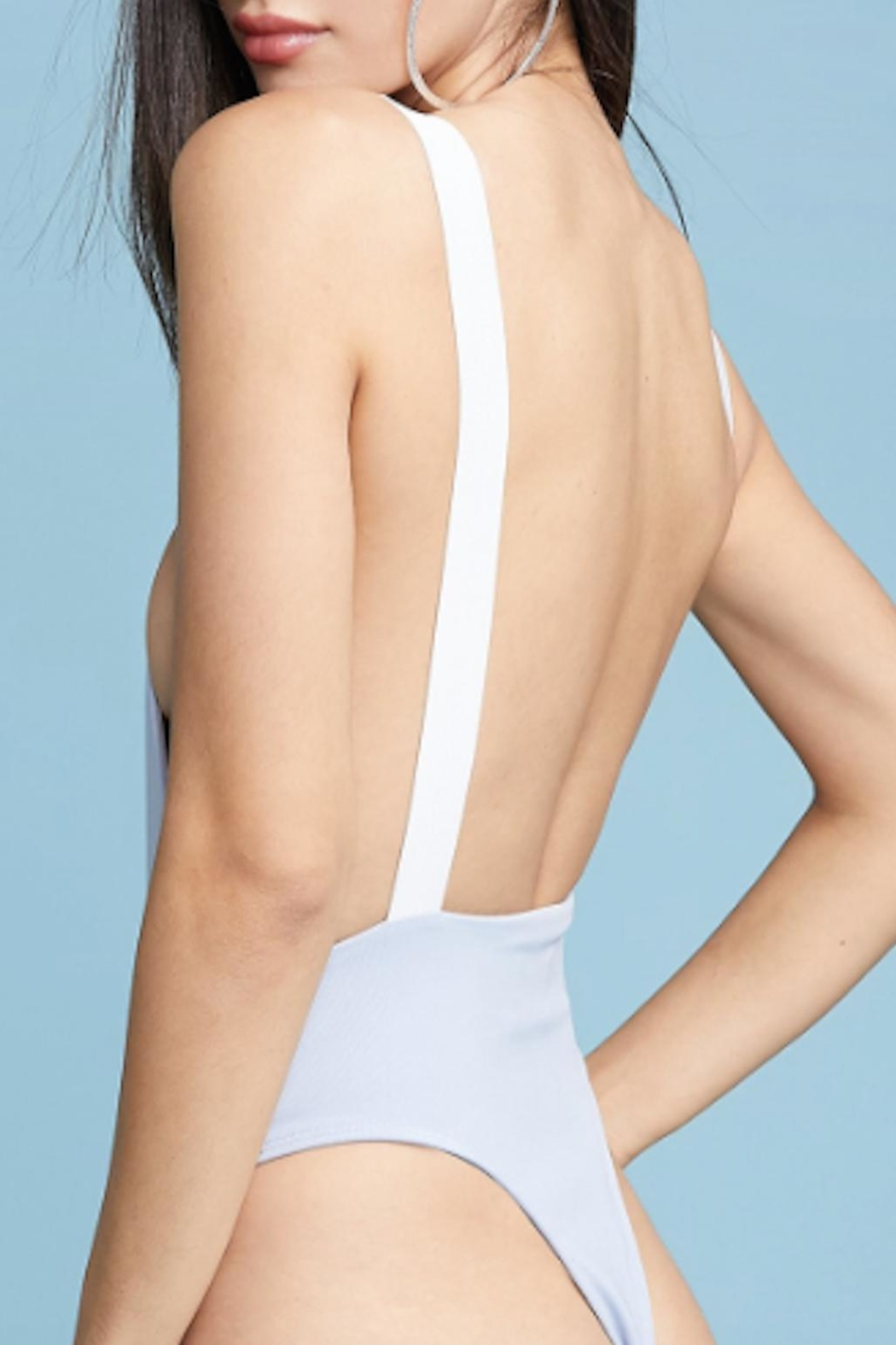 TIMELESS Sky Swimsuit - Side Cropped Image