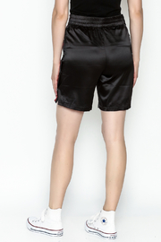 TIMELESS Snapped Track Shorts - Back cropped