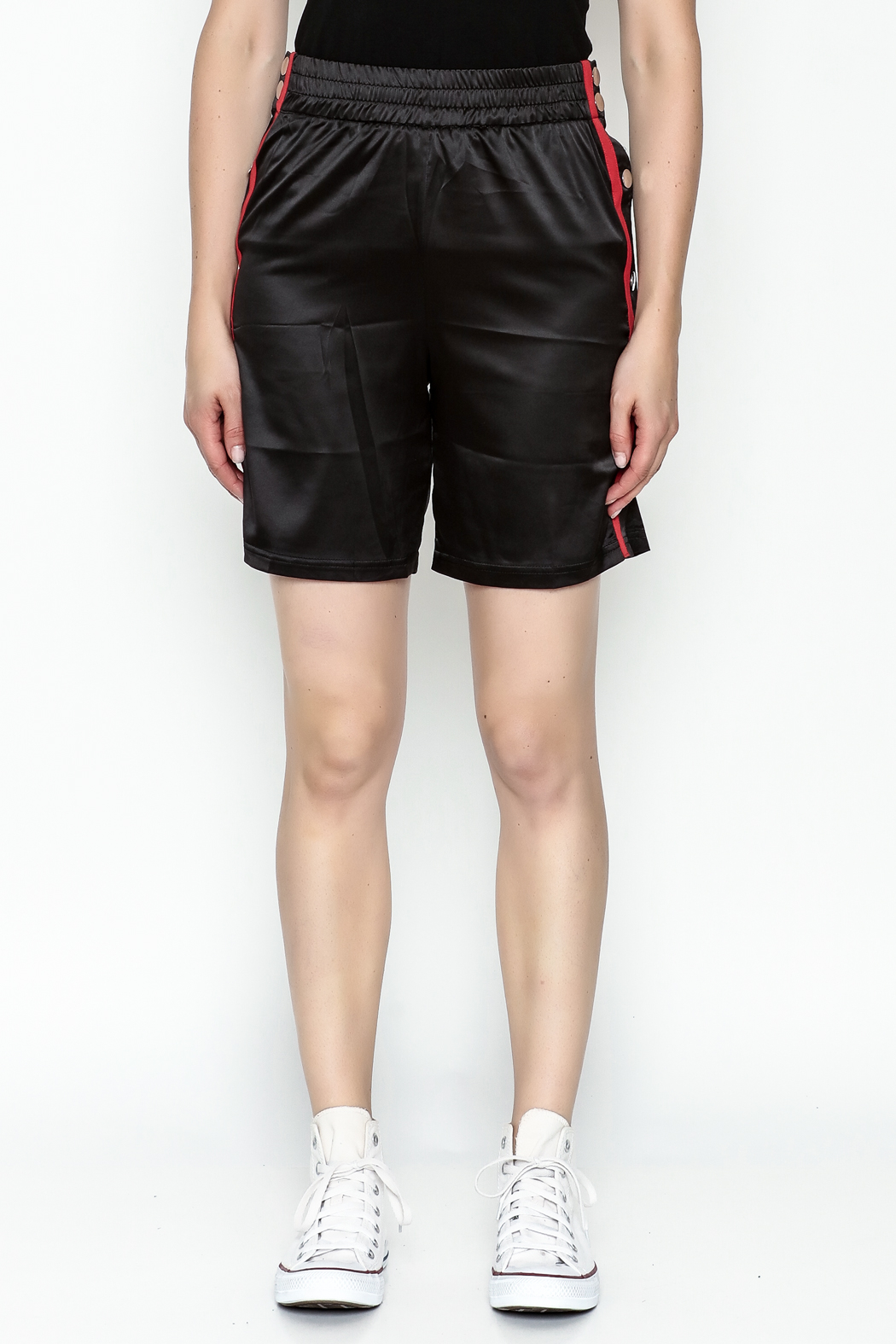 TIMELESS Snapped Track Shorts - Front Full Image