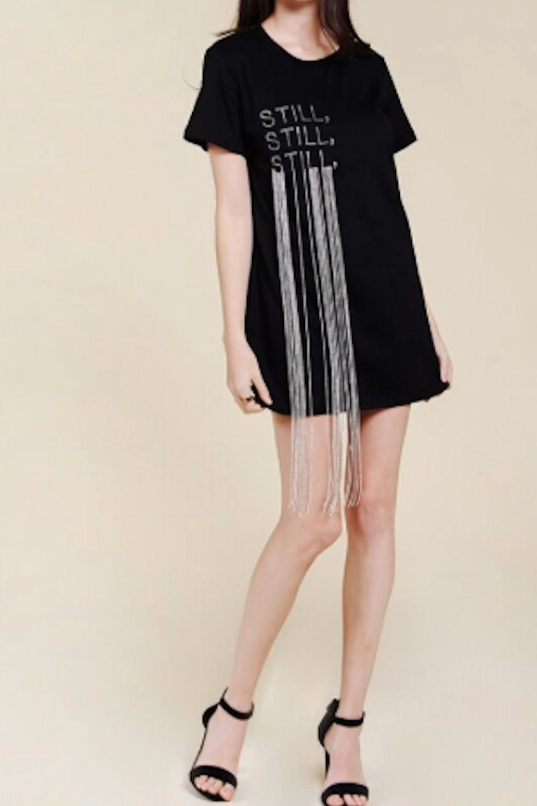 TIMELESS Still Tee Dress - Front Cropped Image