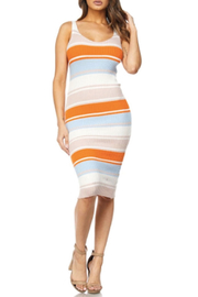 TIMELESS Stripe Rib Dress - Front cropped