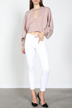 Shoptiques Product: Taupe Sweatshirt