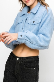 TIMELESS Teddy Cropped Jacket - Front full body