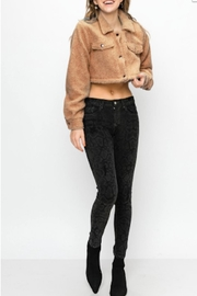 TIMELESS Teddy Cropped Jacket - Product Mini Image