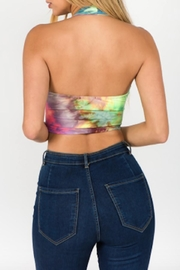 TIMELESS Tied Up Crop - Front full body