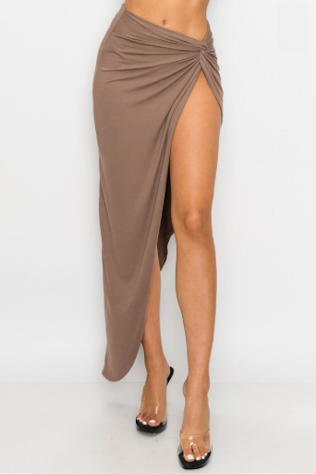 TIMELESS Twisted Skirt - Front Cropped Image