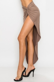 TIMELESS Twisted Skirt - Front full body