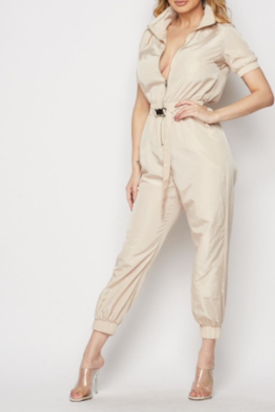 TIMELESS Utlity Jumpsuit - Main Image