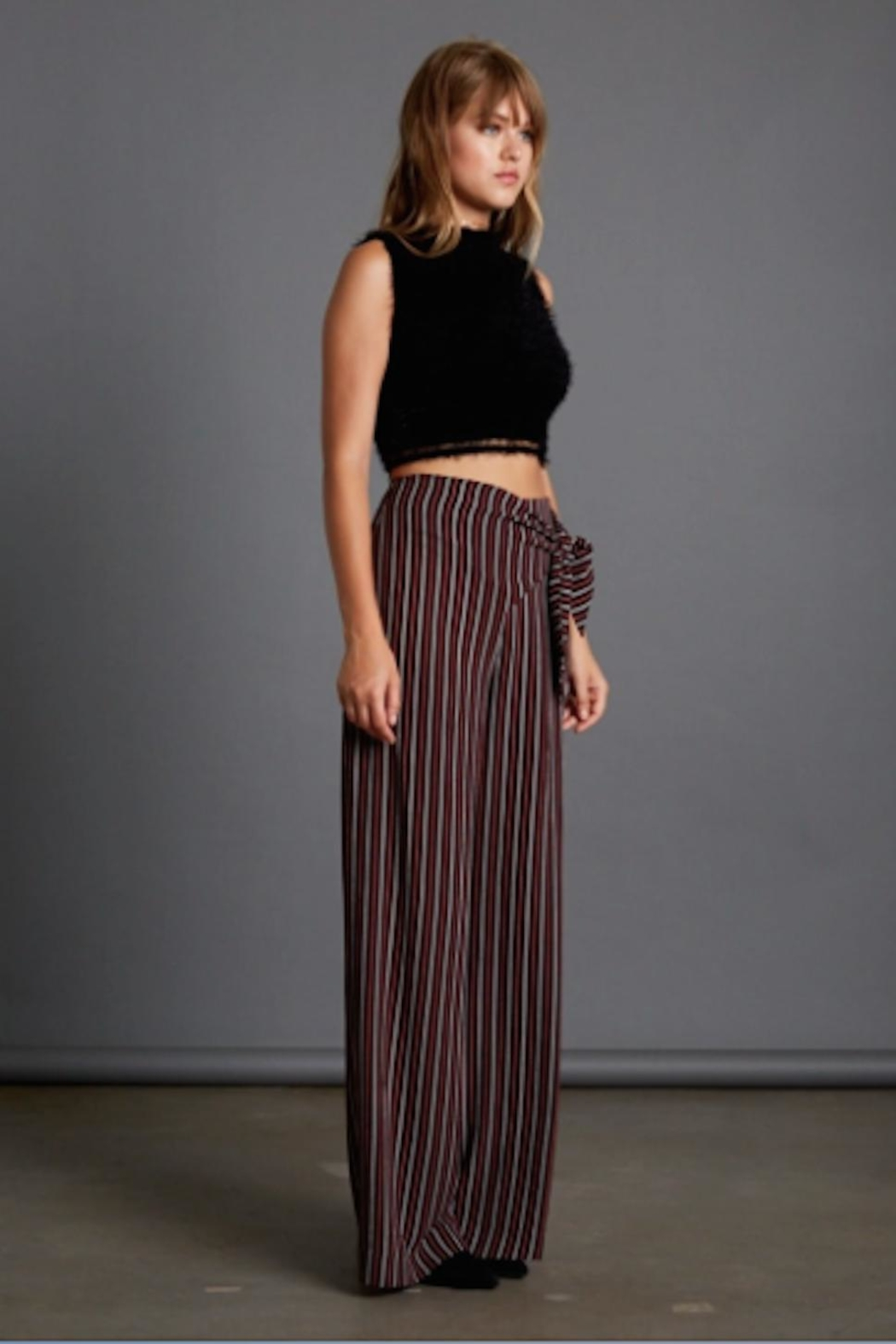 TIMELESS Wide Leg Pant - Side Cropped Image