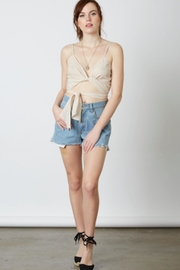 TIMELESS Wrap Crop Top - Product Mini Image