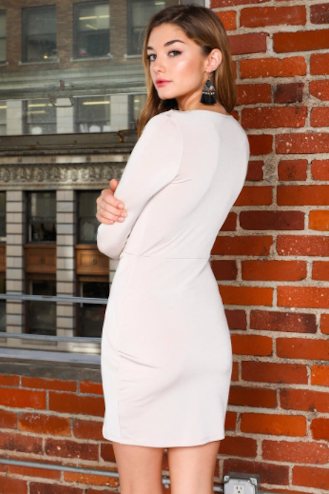 TIMELESS Wrap Front Dress - Front Full Image