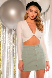 TIMELESS Wrap Tie Top - Product Mini Image
