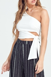 TIMELESS Wrapped Up Top - Front cropped
