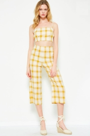 TIMELESS Yellow Plaid Set - Front cropped