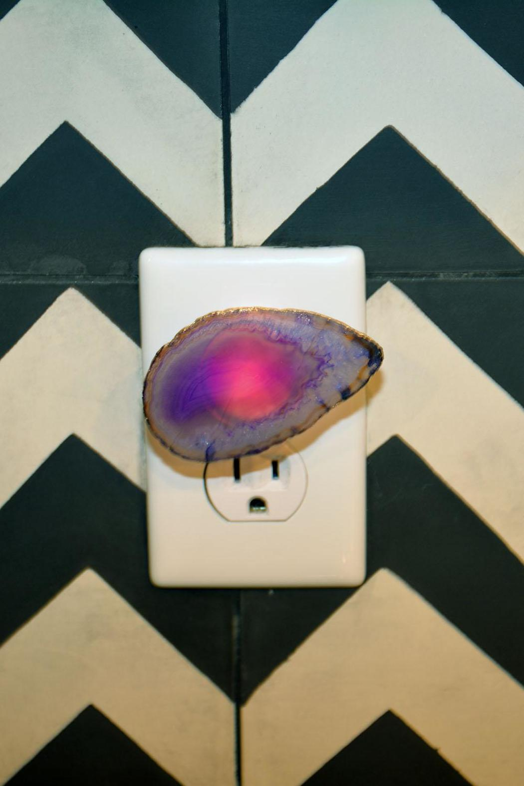 Times Two Design Agate Night Light - Front Full Image
