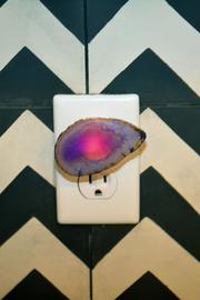Times Two Design Agate Night Light - Front full body