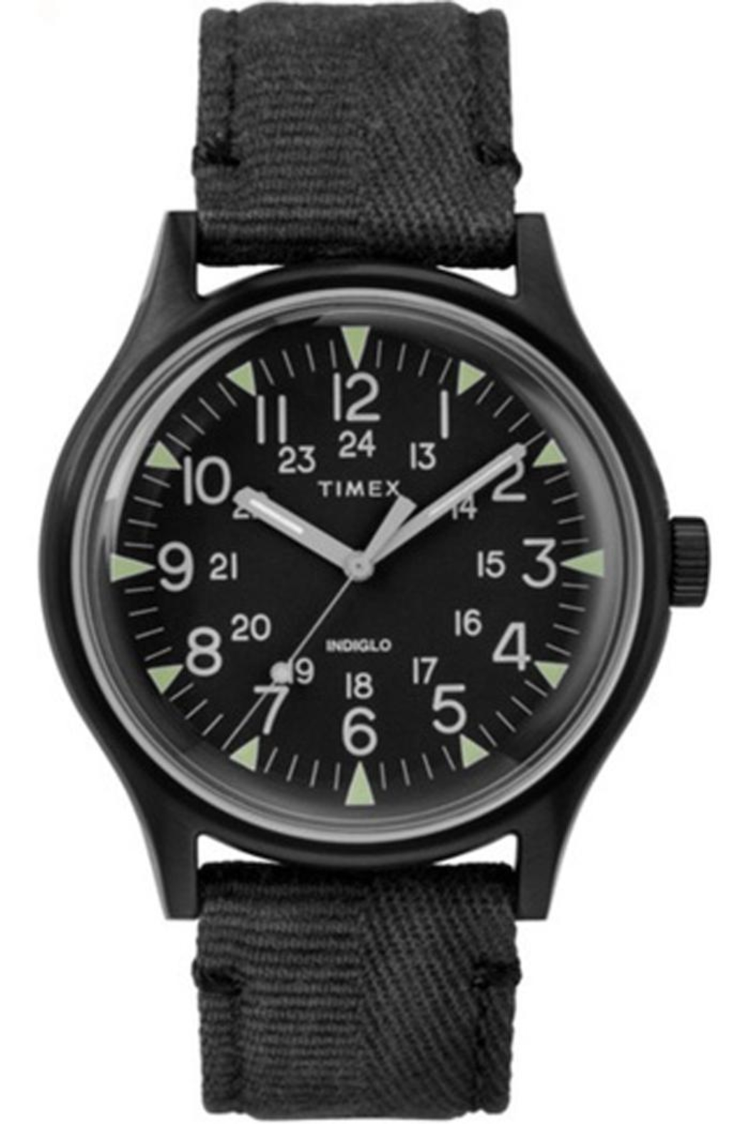 timex Timex Black Watch - Front Full Image