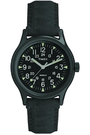 timex Timex Black Watch - Front cropped