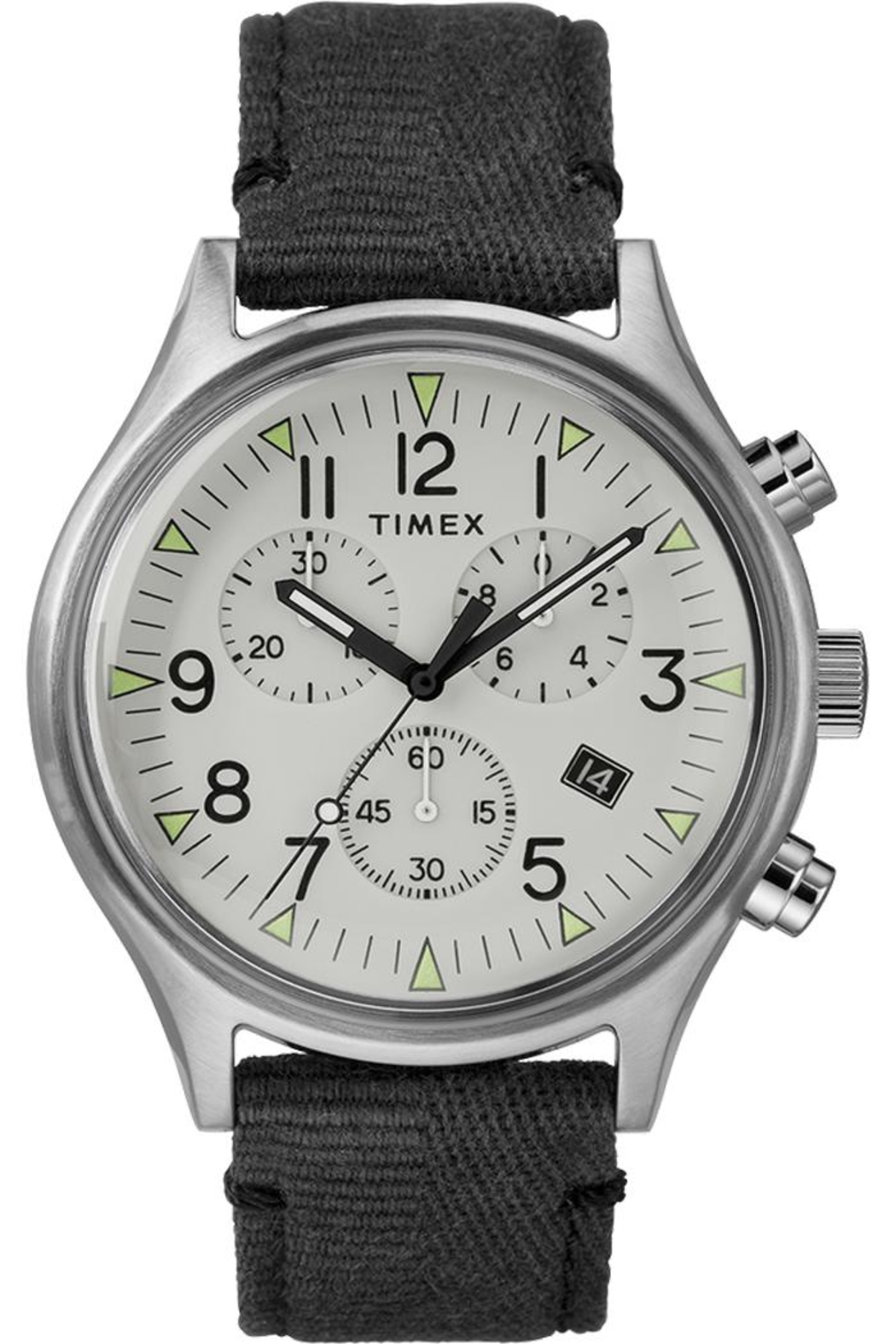 timex Timex Grey Watch - Front Cropped Image