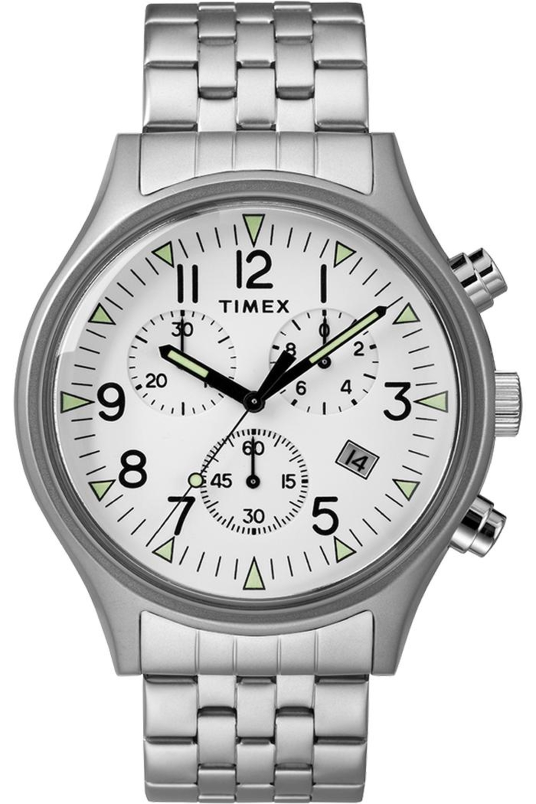 timex Timex Silver Watch - Main Image