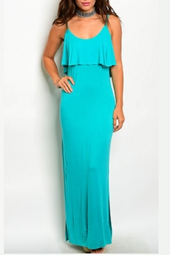 Timing All-Ruffles Maxi Dress - Product List Image