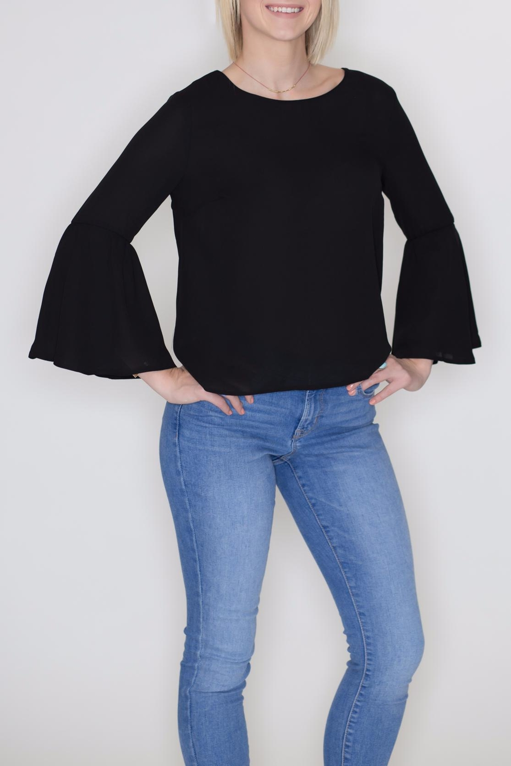 Timing Bell Sleeve Blouse - Main Image