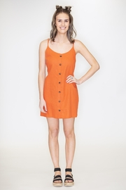 Timing Button Down Dress - Product Mini Image