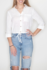Timing Button Down Top - Product Mini Image