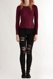 Timing Cable Knit Sweater - Front full body