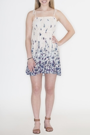Timing Floral Crepe Dress - Front cropped