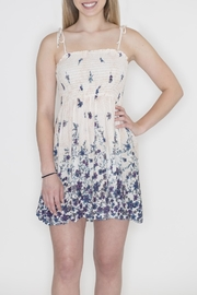 Timing Floral Crepe Dress - Front full body