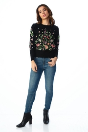 Timing Floral Embroidered Top - Front cropped
