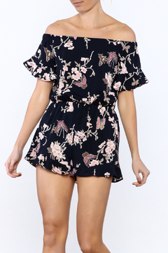 Timing Floral Print Romper - Product List Image