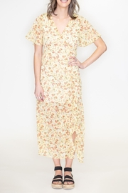 Timing Floral Ruched Dress - Product Mini Image
