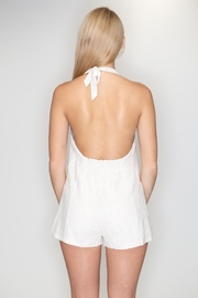 Timing Halter Romper - Back cropped