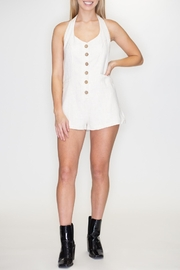 Timing Halter Romper - Front cropped