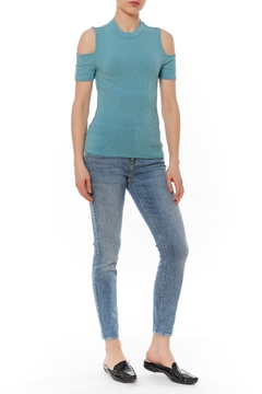 Shoptiques Product: Ribbed Fitted Top