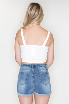 Timing Ribbed Crop Top - Alternate List Image