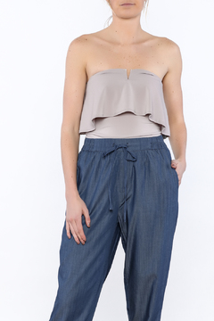 Timing Tube Top Ruffle Bodysuit - Product List Image