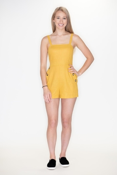 Timing Square Neck Romper - Product List Image