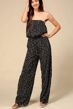 Timing Strapless Jumpsuit - Product List Image