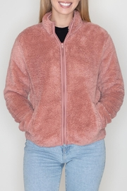 Timing Teddy Jacket - Front cropped