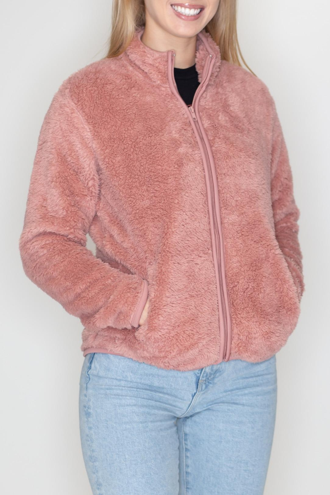 Timing Teddy Jacket - Front Full Image