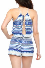 Timing Watercolor Romper - Back cropped