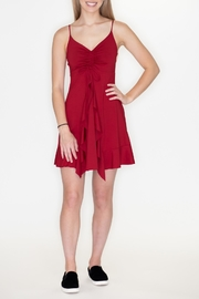 Timing Waterfall Ruffle Dress - Product Mini Image